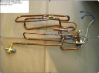 Impianto di aspirazione con valvola e rubinetto QMS A24-28