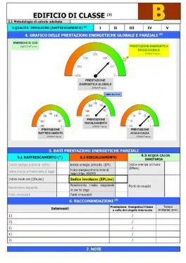 Costo attestato prestazione energetica
