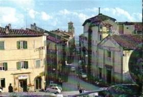 Piazza Romei e chiesa di S. Rocco oggi Sacrario dei caduti