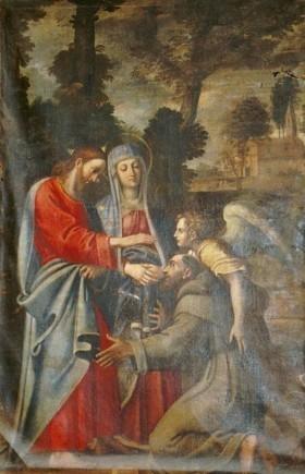 Tela del Carracci nella chiesa di S. Maria  della Consolazione