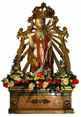 S. Egidio Abate patrono di Caprarola