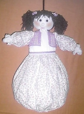 Cod bam02 bambola portasacchetti spesa - Porta sacchetti ...