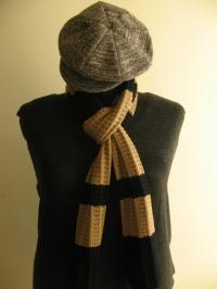 Cod. sci110 sciarpa uomo lana merino