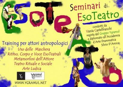Training di EsoTeatro di Vania Castelfranchi
