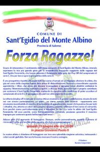 Manifesto amministrazione comunale