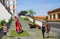 la Pedamentina - Un grande scivolo da San Martino a Corso V. Emanuele