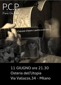 Live music PCP – Piano che piove - musica indipendente