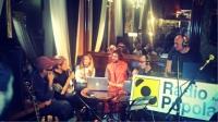 POP UP LIVE - RADIO POPOLARE @OSTERIADELLUTOPIA/LIBRERIA BARAVAJ!!!