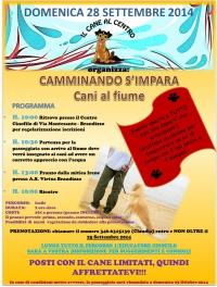 CAMMINANDO S'IMPARA: Cani al fiume