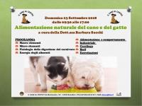 Alimentazione naturale del cane e del gatto