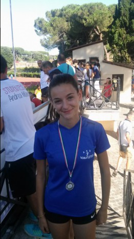 Flavia 2° posto nel salto in alto Cadette