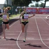 Arrivo finale 200 metri Valeria