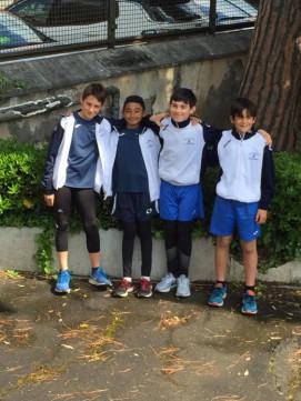 Daniele,Fabrizio,Federico e Mattia