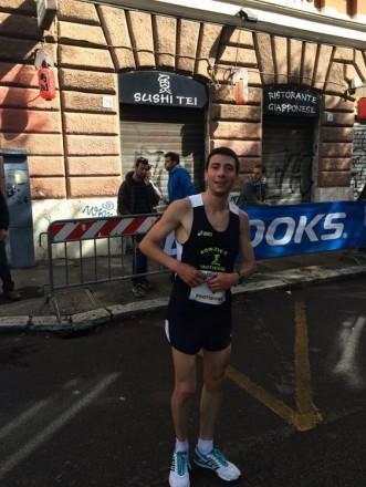 Il vincitore Luca Parisi