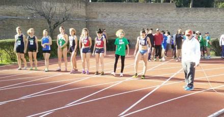 Partenza 500 metri di Margherita,Anna,Paola e Donatella