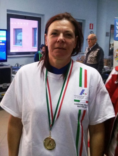 La campionessa Rosanna Rosati
