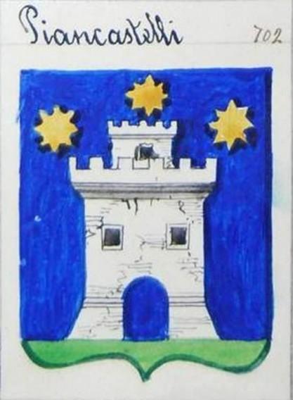 Altro stemma dei Piancastelli
