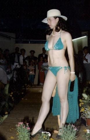 Silvia Piancastelli sfila in passerella