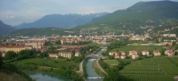 La città di Rovereto, città della Pace
