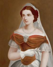 S.M. Maria Sofia Wittelsbach, reine des Deux-Siciles