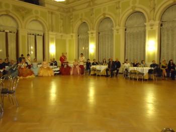 Nell'elegante Salone del Casinò