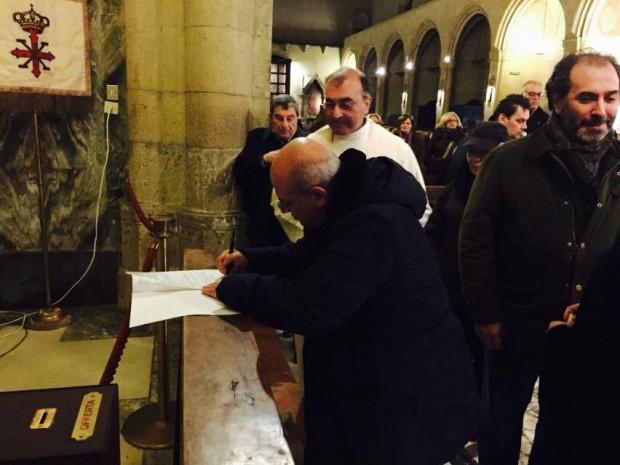 firma don Massimo Cuofano