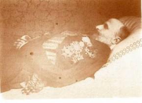 Arco: Francesco II sul letto di morte