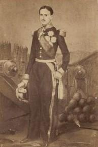 König Franz II in Gaeta