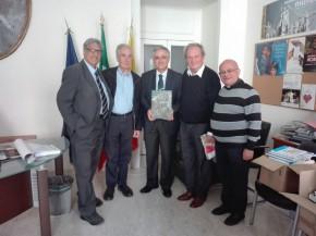 Delegazione con l'Ass. Nino Daniele