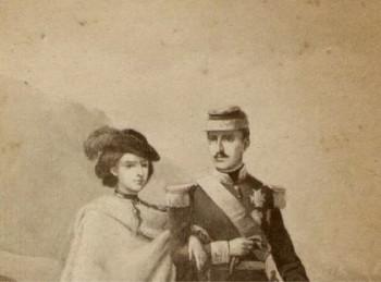 König Franz II und Königin Maria Sofia