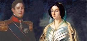 Bienheureuse Maria Cristina et le roi Ferdinand II